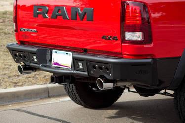 2009 - Up RAM 1500 Stealth Rear Bumper
