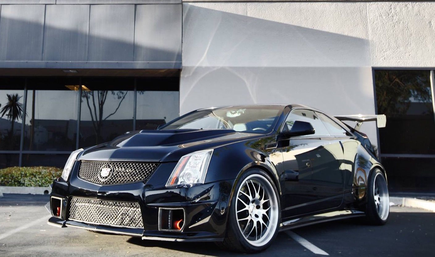 2012 Cadillac CTS-V Coupe | CTS-V Coupe by D3Cadillac on Forgeline DE3S Wheels