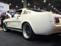 Matt Alcala's Widebody 1965 Ford Mustang Fastback on Forgeline GZ3R Wheels
