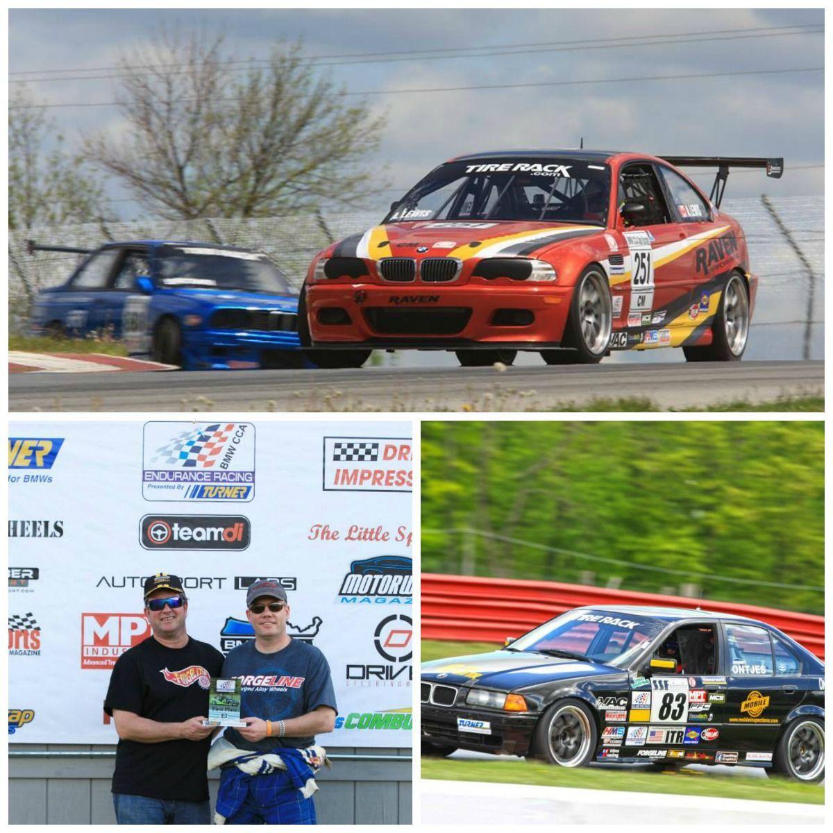 BMW  | BMW CCA Mid-Ohio Winners on Forgeline Wheels