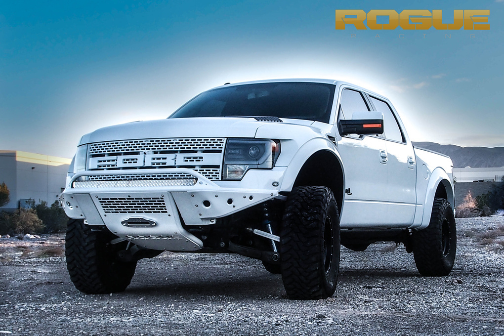2010 Ford F-150 | The Rogue Revolver Bumper in White