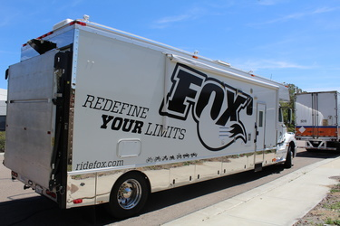 Fox Racing Toterhome