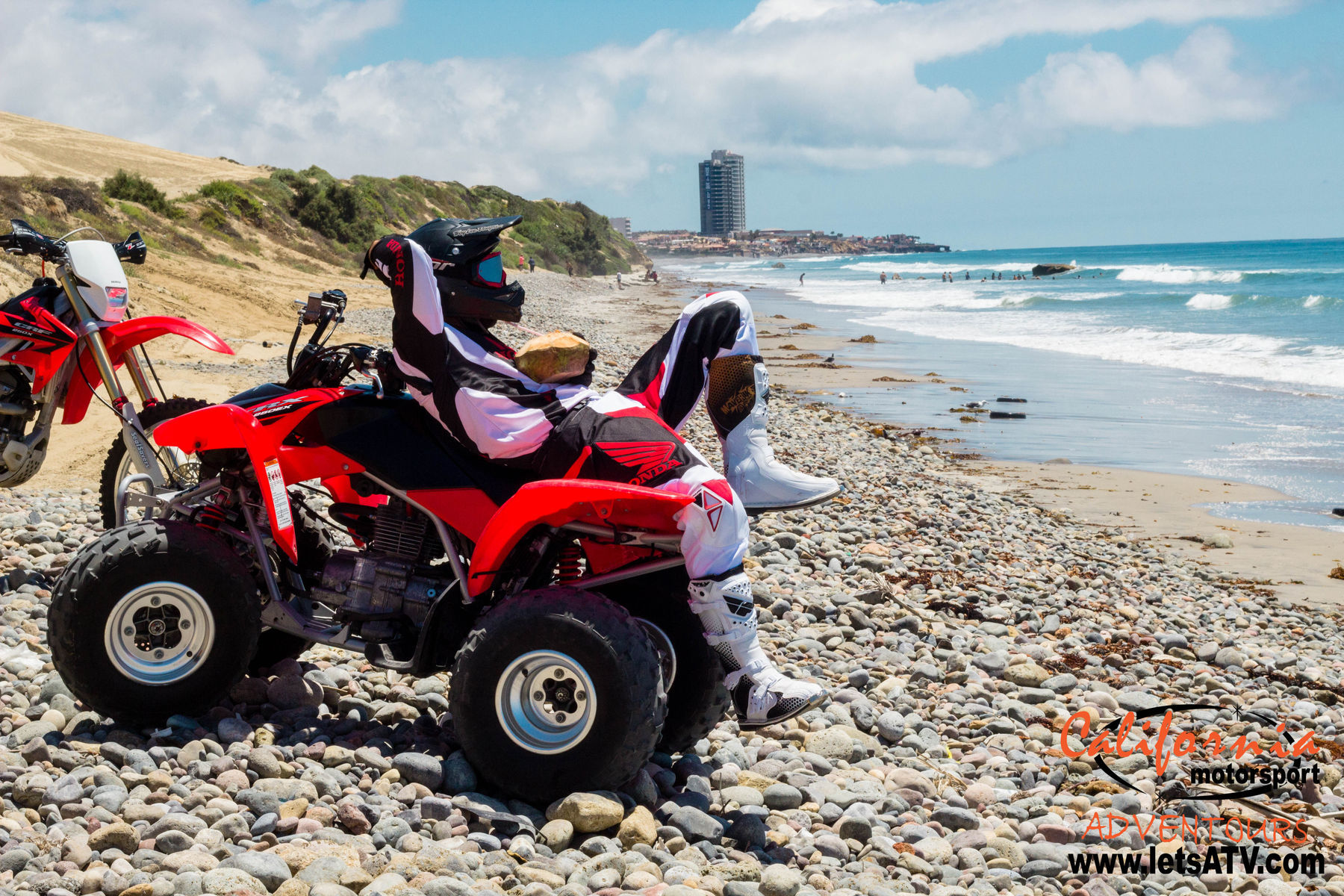 2007 Honda  | TRX 250 makes a good spot for spring break relaxing