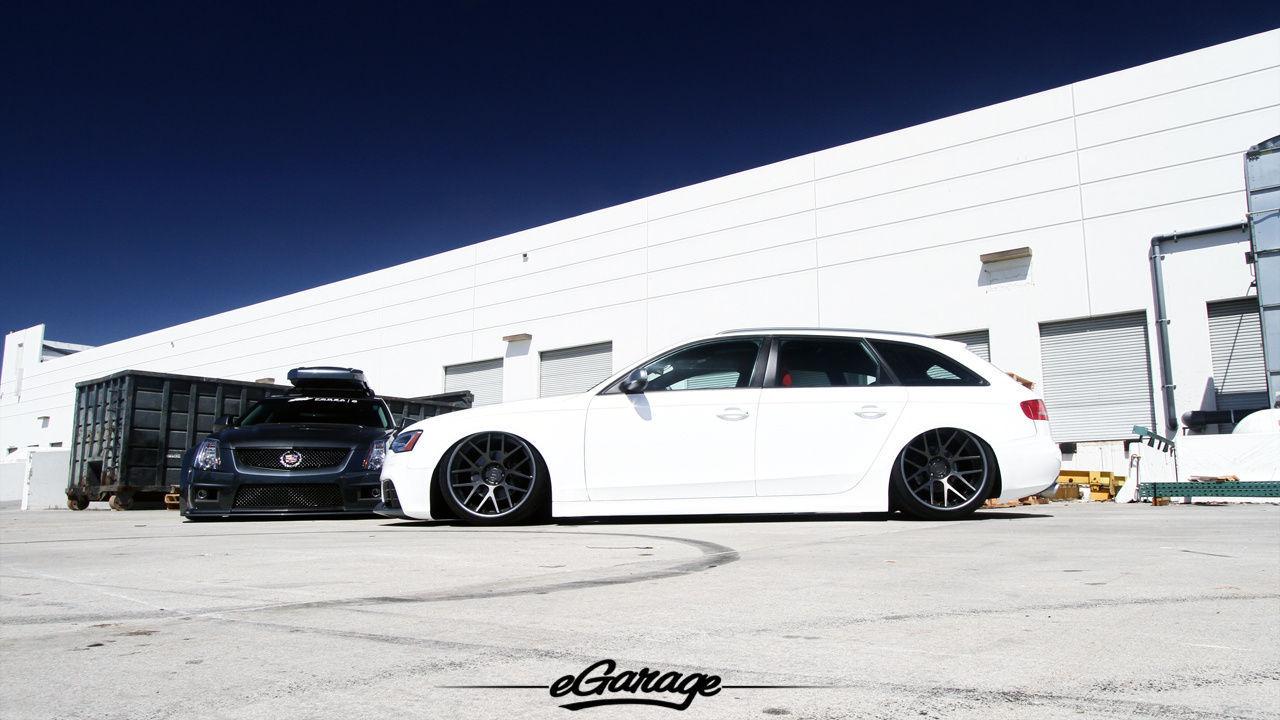 2012 Audi allroad   Cadillac vs Audi