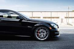 GMP Performance-Tuned AMG C63 on Forgeline One Piece Forged Monoblock VX1R Wheels