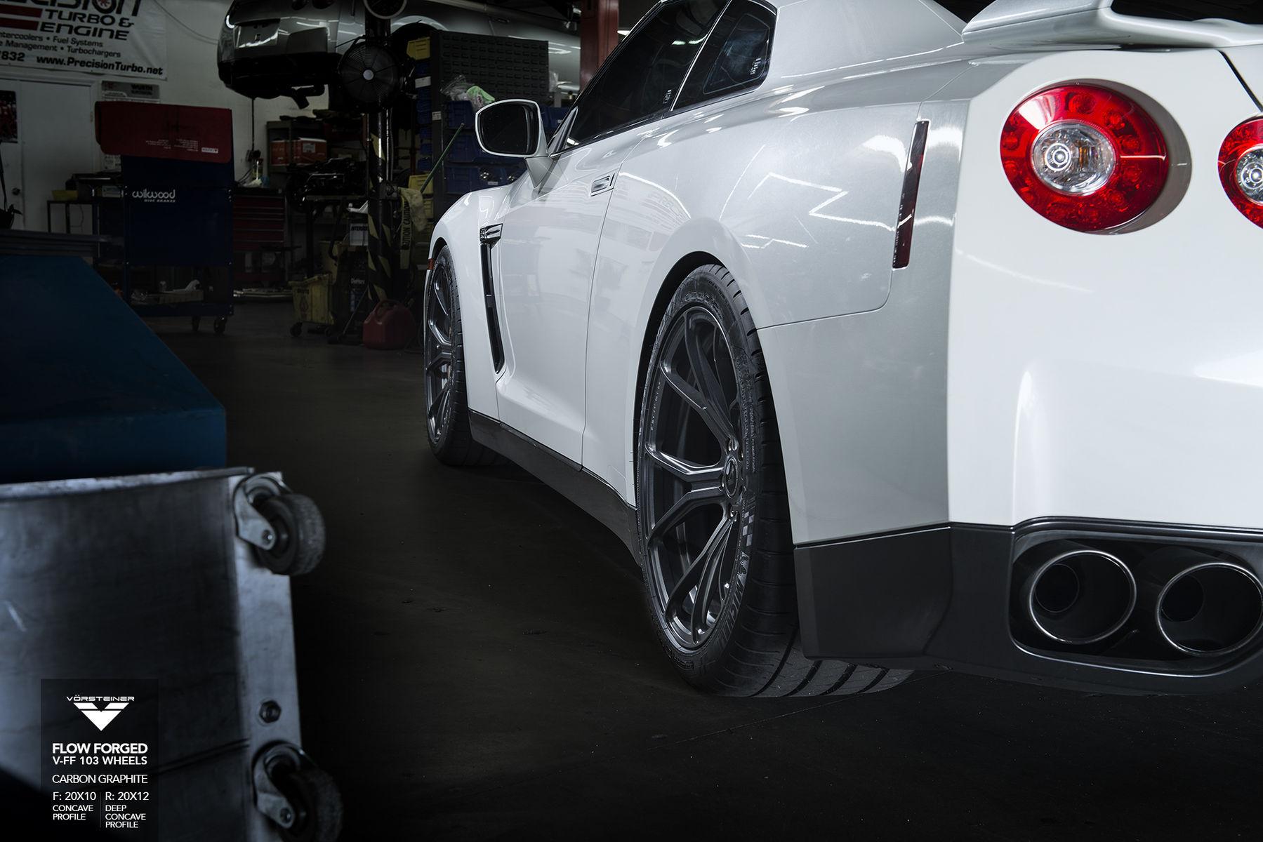 2015 Nissan GT-R | Nissan GTR - Vorsteiner Flow Forged V-FF 103 Wheels