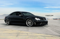 2007 Mercedes-Benz CLK63 AMG on Concept One CS-10's