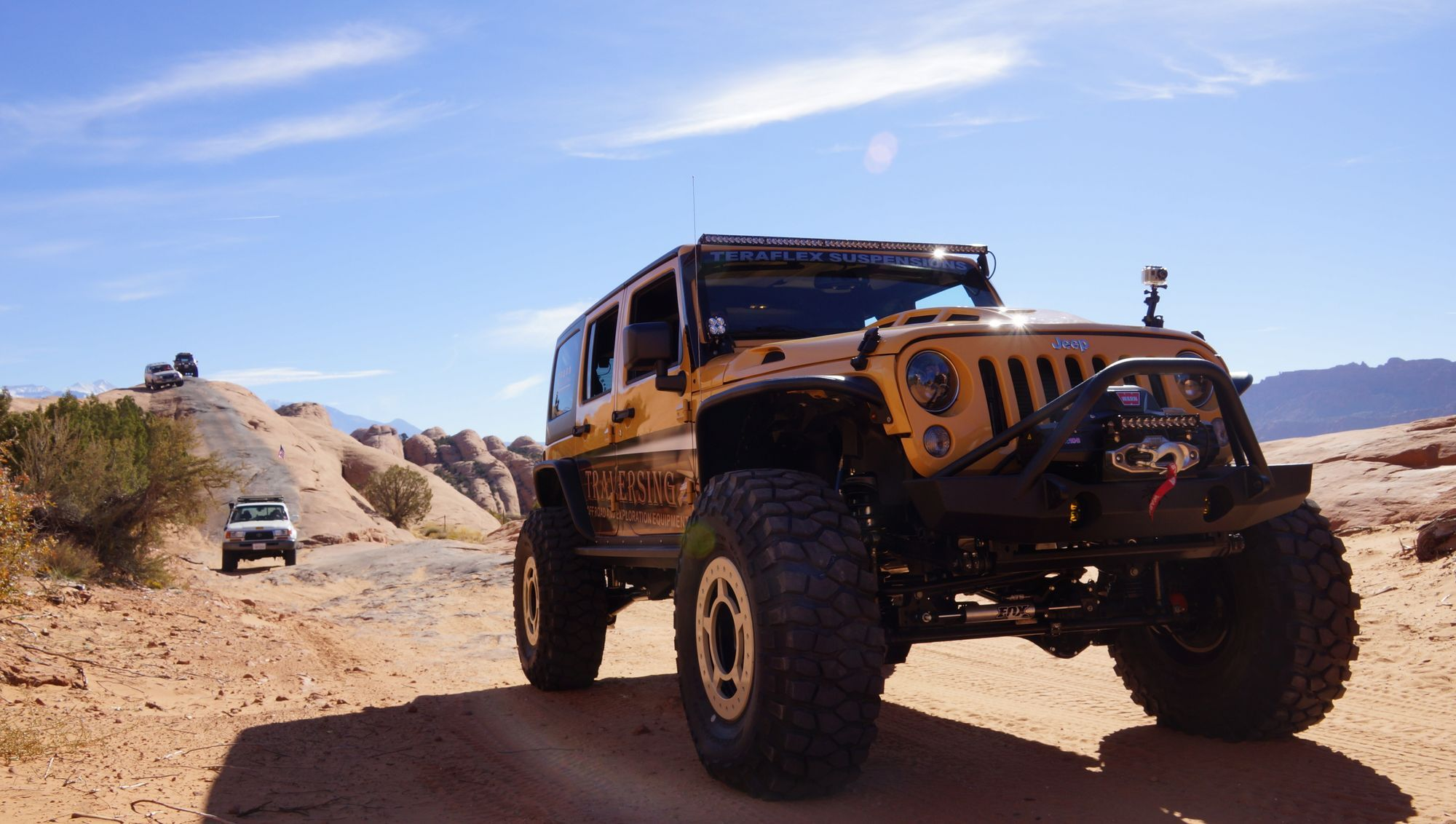 2007 Jeep Wrangler   Jeeping Moab