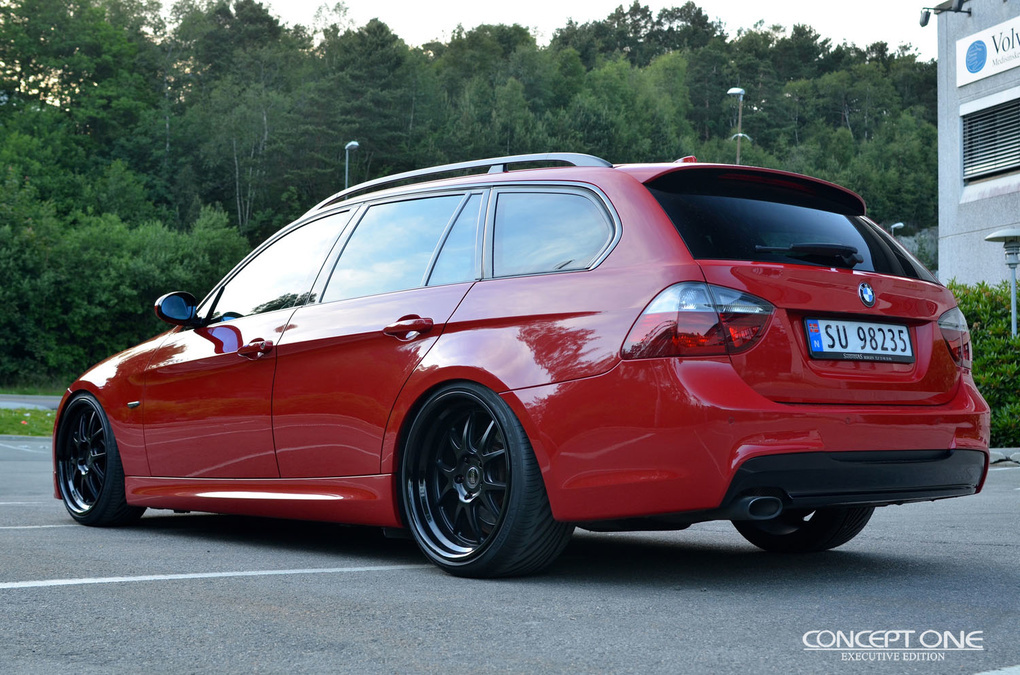 2008 BMW 3 Series   '08 3-Series Wagon on Concept One CL5.5's