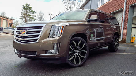 2016 Cadillac Escalade | Cadillac Escalade with XPEL ULTIMATE