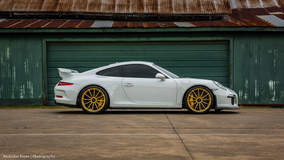 Cody Whitehead's Porsche 991 GT3 on Forgeline One Piece Forged Monoblock GT1 Wheels