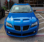 Pontiac G8 with XPEL ULTIMATE self-healing clear bra