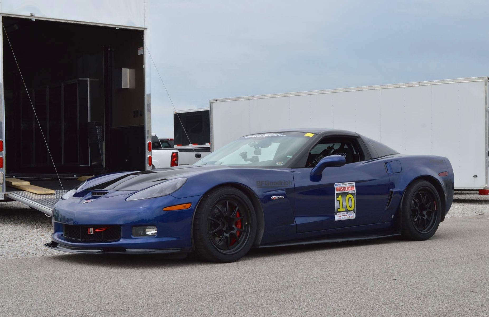 2007 Chevrolet Corvette Z06 | Joe Gregory's C6 Corvette Z06 on Forgeline GA3R Wheels