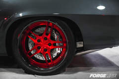 James Crosby Designs' '69 Camaro on Forgeline DS3P Wheels at the 2015 SEMA Show