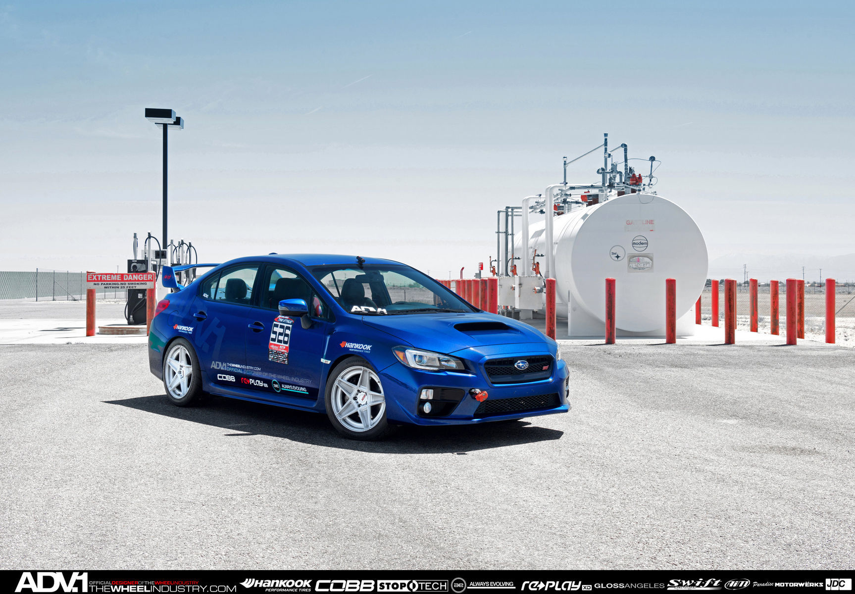 2015 Subaru STI | SUBARU STI ADV5S REDLINE TIME ATTACK: ROUND 2 - BIG WILLOW - APRIL 12