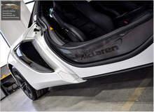 Love the door sills on the McLaren!