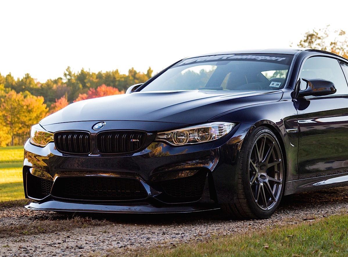 2017 BMW M4 | Turner Motorsport's BMW F82 M4 on Forgeline One Piece Forged Monoblock GA1R Wheels