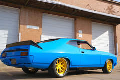 Flat 12 Gallery's 1976 Ford Falcon on Forgeline VX3C Wheels