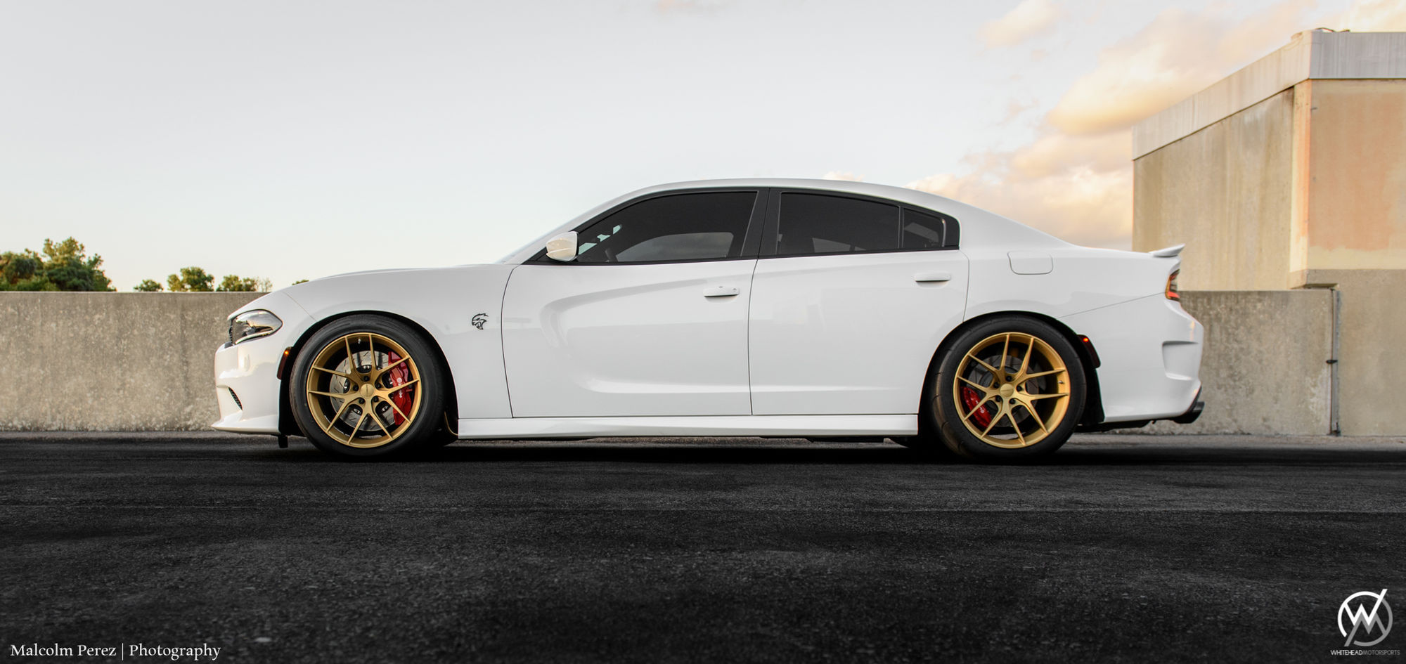 2017 Dodge Charger   Cody's Whitehead Motorsports Dodge Charger Hellcat on Forgeline One Piece Forged Monoblock VX1 Wheels
