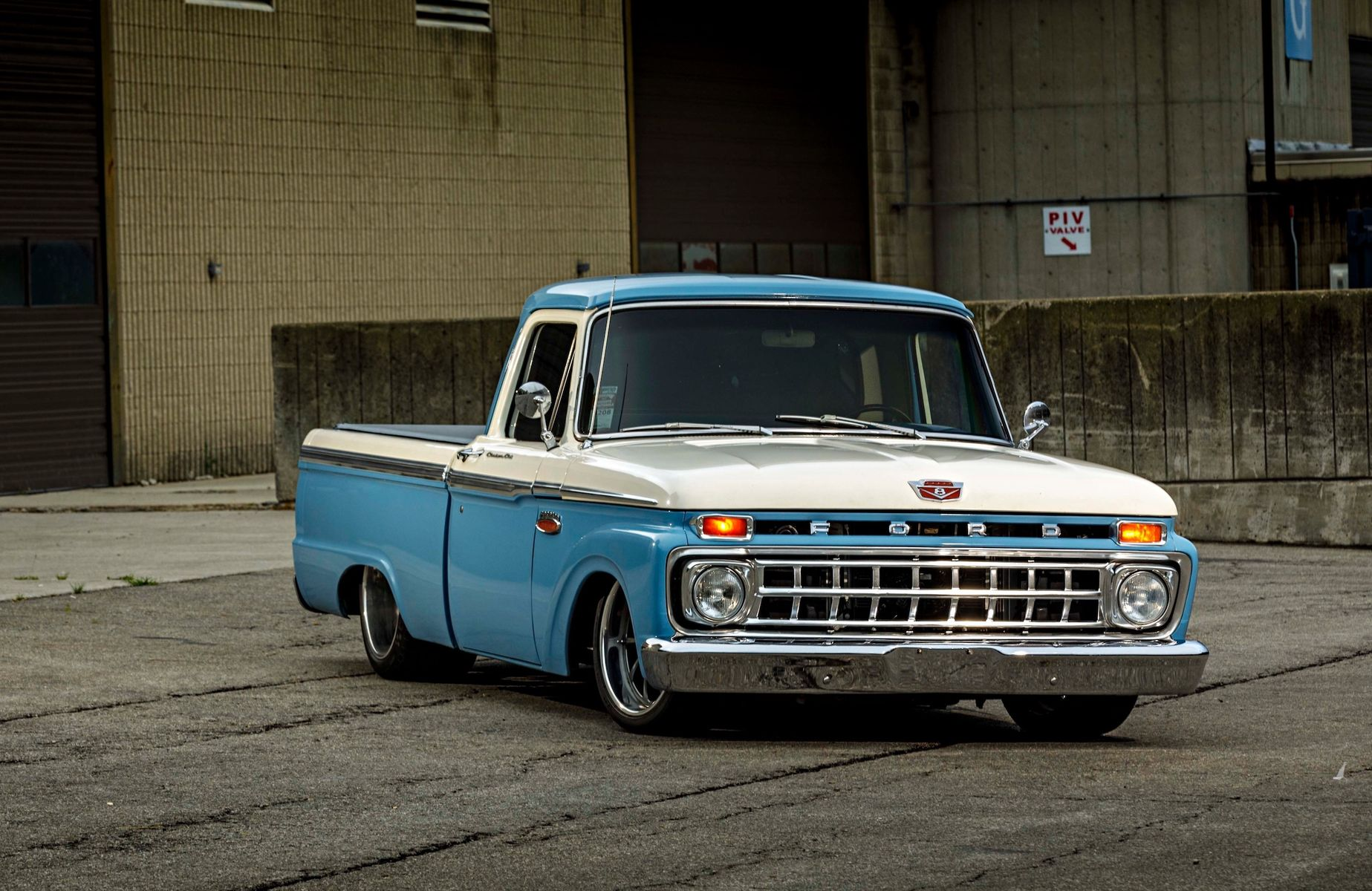 1965 Ford F-150 | Jimmy Butler's Big Oak Garage Ford F-100 on Forgeline ZX3P Wheels