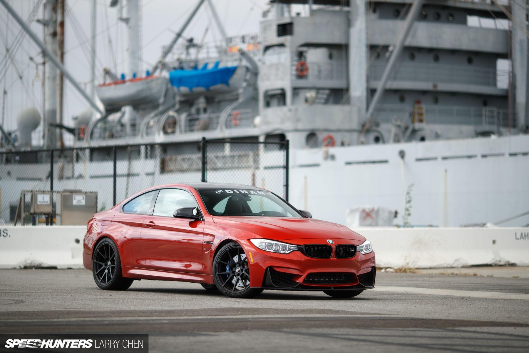 2017 BMW M4 | Dinan Engineering's BMW S2 M4 on Forgeline One Piece Forged Monoblock GA1R Wheels