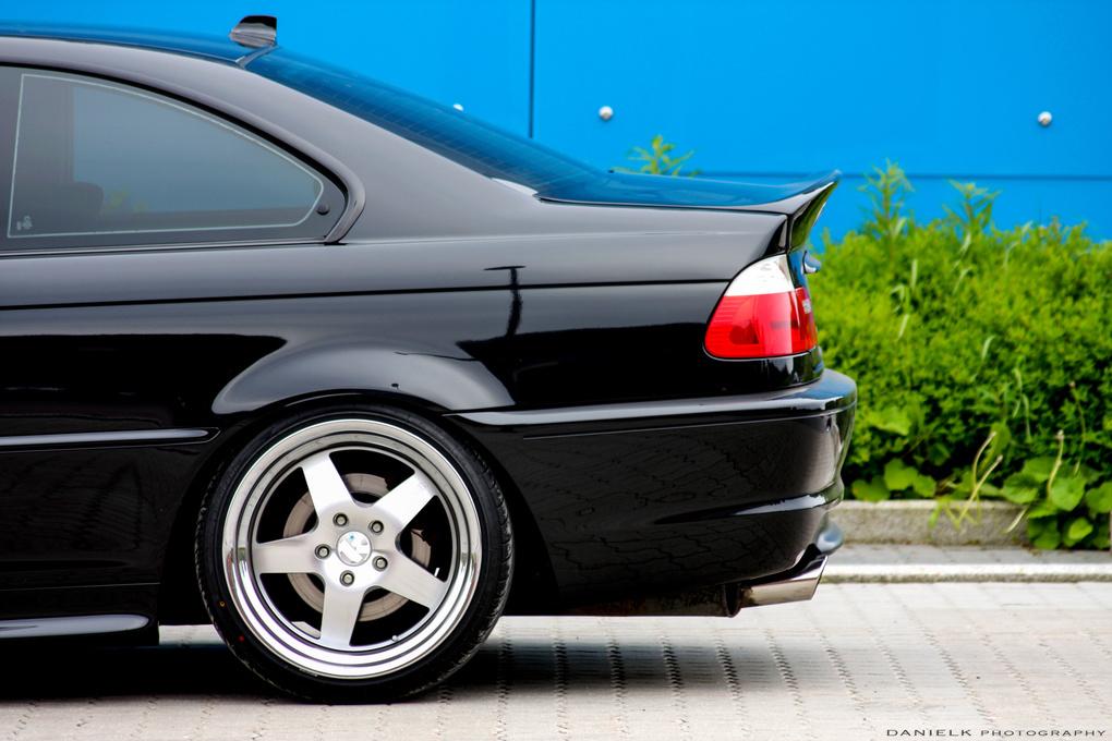 2002 BMW 3 Series   '02 BMW 3-series on Concept One SL-5's