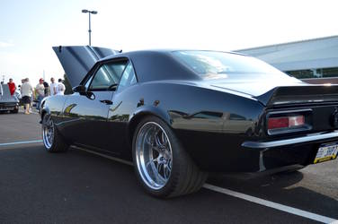 1967 Chevrolet Camaro | Gary Popolizio's Bent Metal Customs '67 Camaro on Forgeline GA3 Wheels - Rear Shot