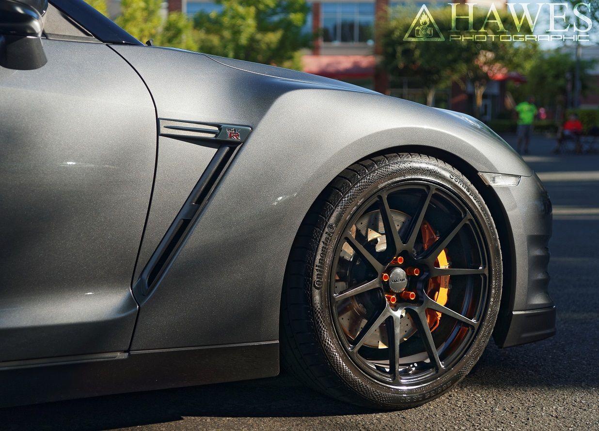 2014 Nissan GT-R | GT-R on Forgeline GA1R Open Lug Cap Edition Wheels