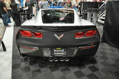 2014 C7 Corvette Stingray at the Mobil 1 Booth