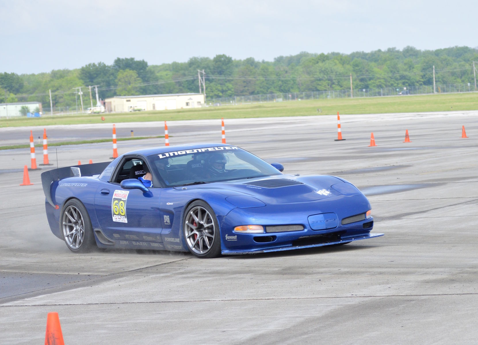 2003 Chevrolet Corvette Z06 | Danny Popp's C5 Corvette Z06 on Forgeline One Piece Forged Monoblock GS1R Wheels