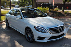 2015 S550 with XPEL ULTIMATE paint protection film