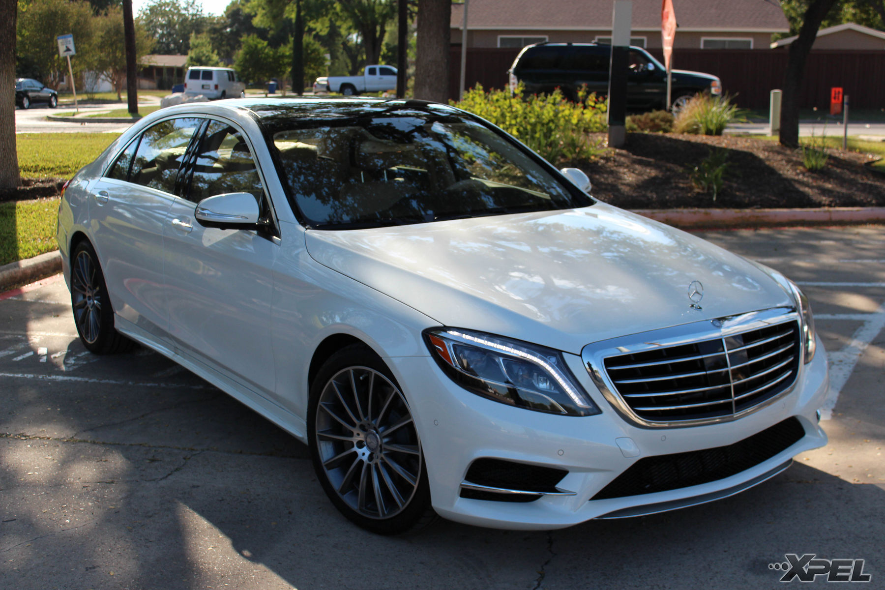 2015 Mercedes-Benz 500-Class | 2015 S550 with XPEL ULTIMATE paint protection film