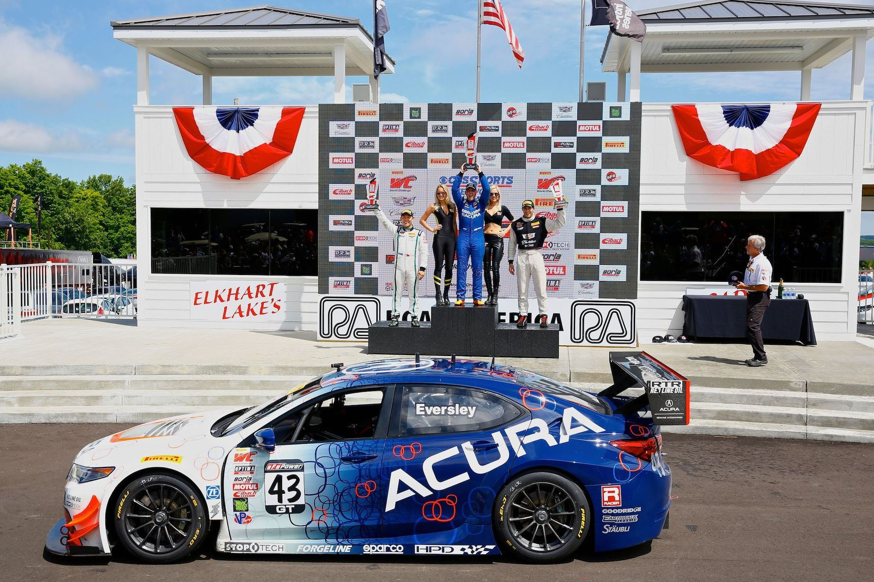 2016 Acura TLX | RealTime Racing Takes Forgeline GTD1 Wheels to Victory at Road America