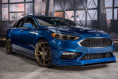 2017 Ford Fusion Sport By Legacy Innovations - Front Quarter