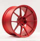 Forgeline One Piece Forged Monoblock GA1R in Matte Transparent Red