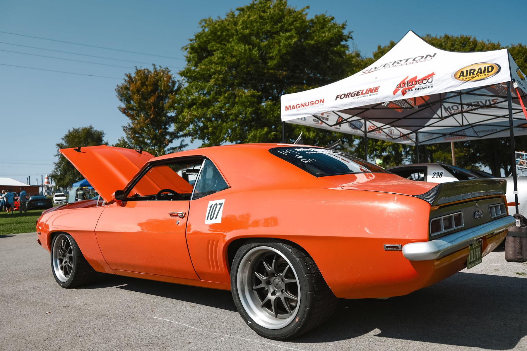 1969 Chevrolet Camaro   Will Hodge's Twin Turbo '69 Camaro on Forgeline GA3 Wheels