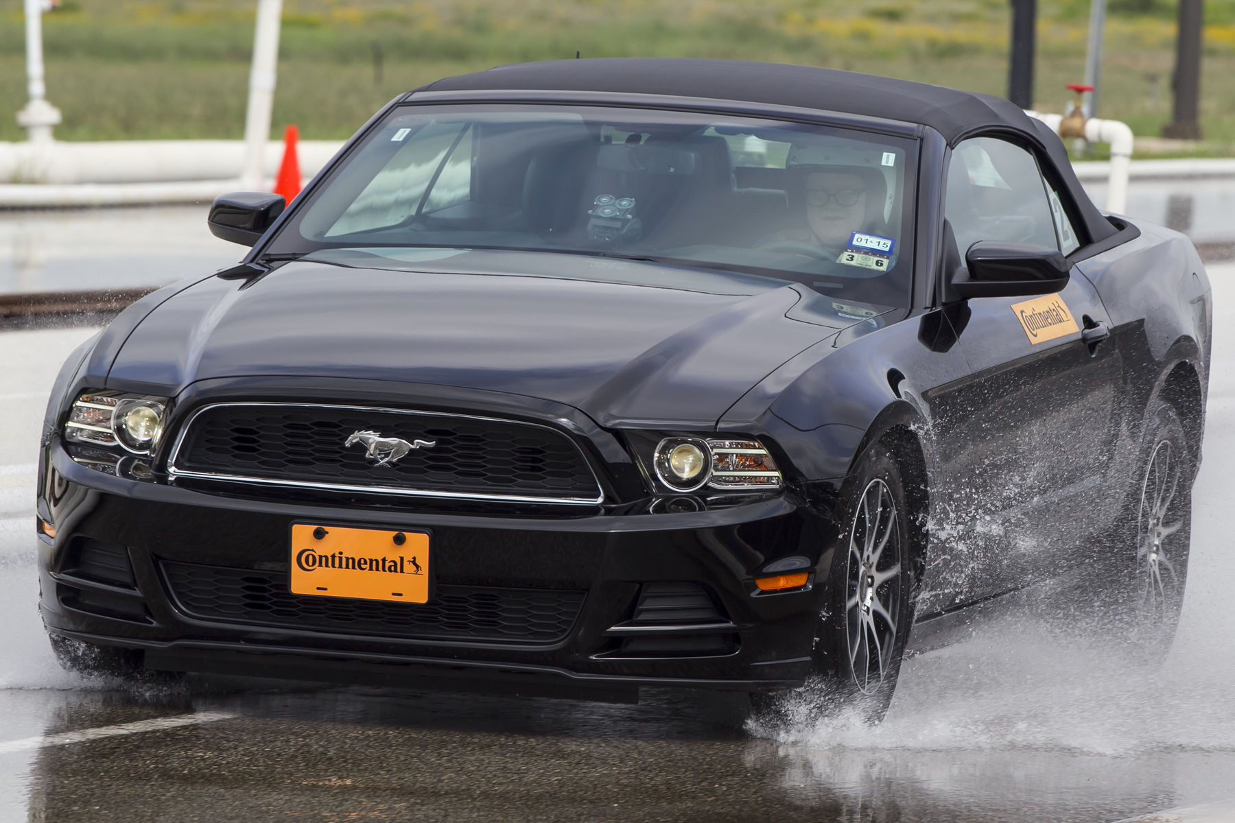 | Wet braking in the mustang, done by Greeble Monkey (Haus)