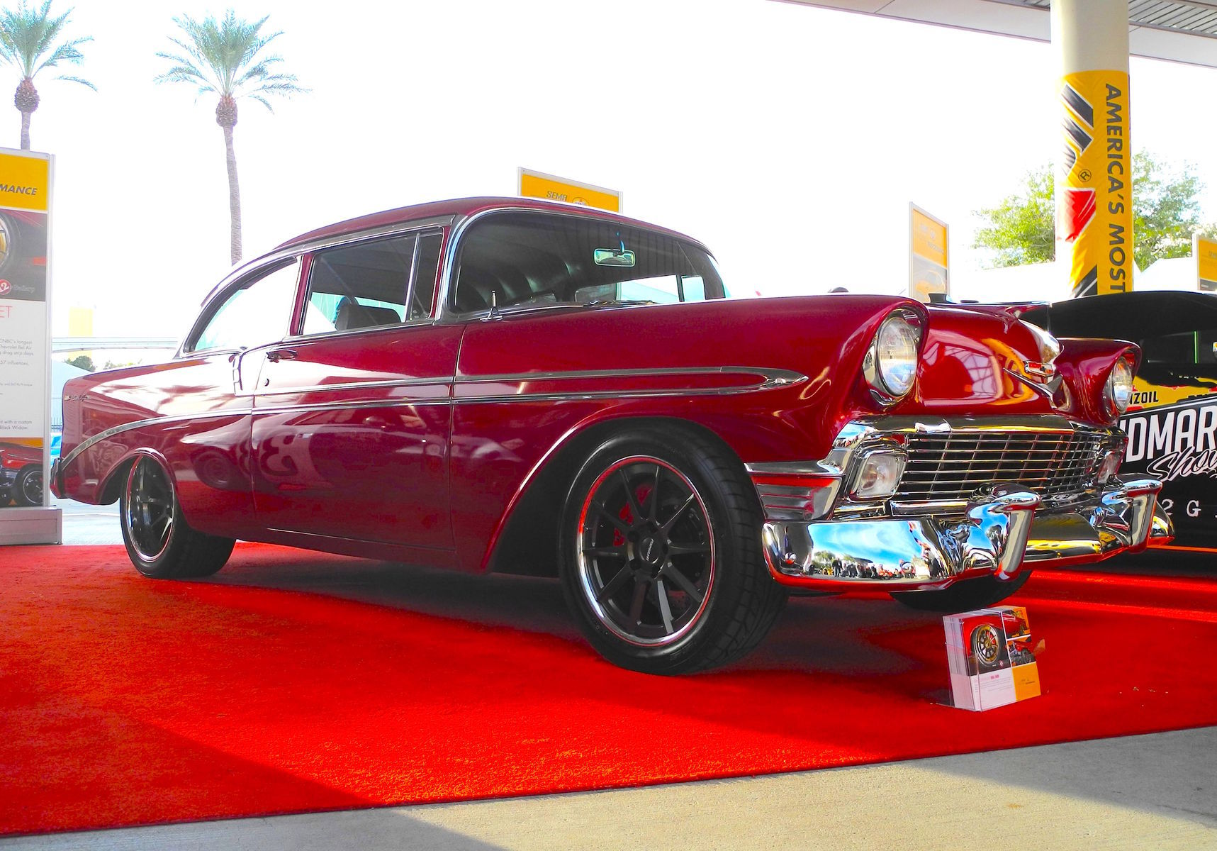 1956 Chevrolet Bel Air | Flat 12 Gallery's