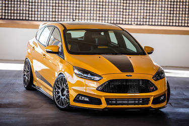 2015 Ford Focus ST | 2015 FSWERKS Ford Focus ST - Stanced To Perfection