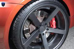 Lowered BMW M2 - Brembo Brakes