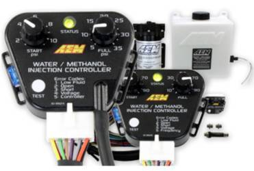 AEM Electronics boost-dependent water/methanol injection system