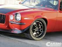 Marry Pozzi's Camaro on Forgeline GA3 Wheels