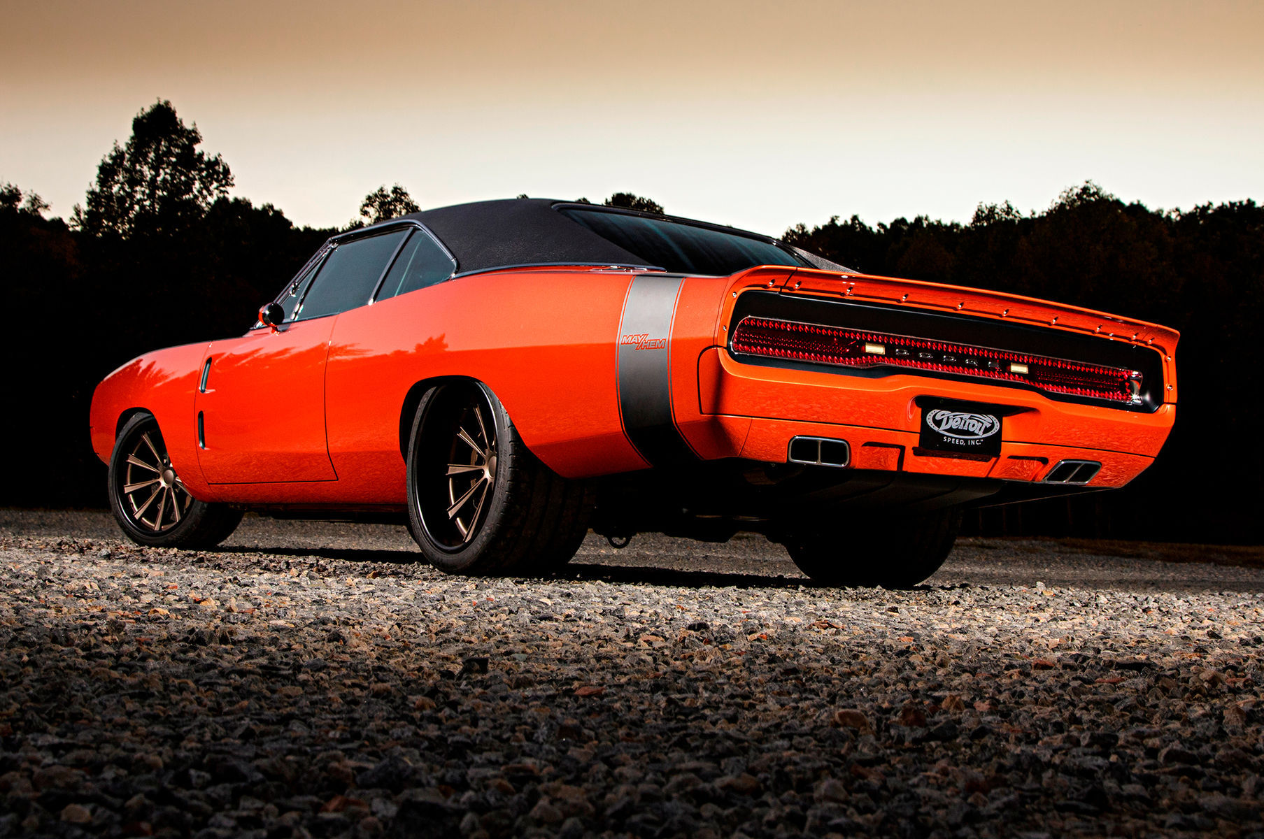 1969 Dodge Charger | Moe's Detroit Speed '69 Dodge Charger on Forgeline Dropkick Wheels