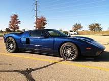Dan's Ford GT on Forgeline DE3C Wheels