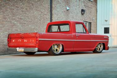 1967 Ford F-150 | Bill's Roadster Shop 1967 Ford F100 on Forgeline RS6 Centerlock Wheels