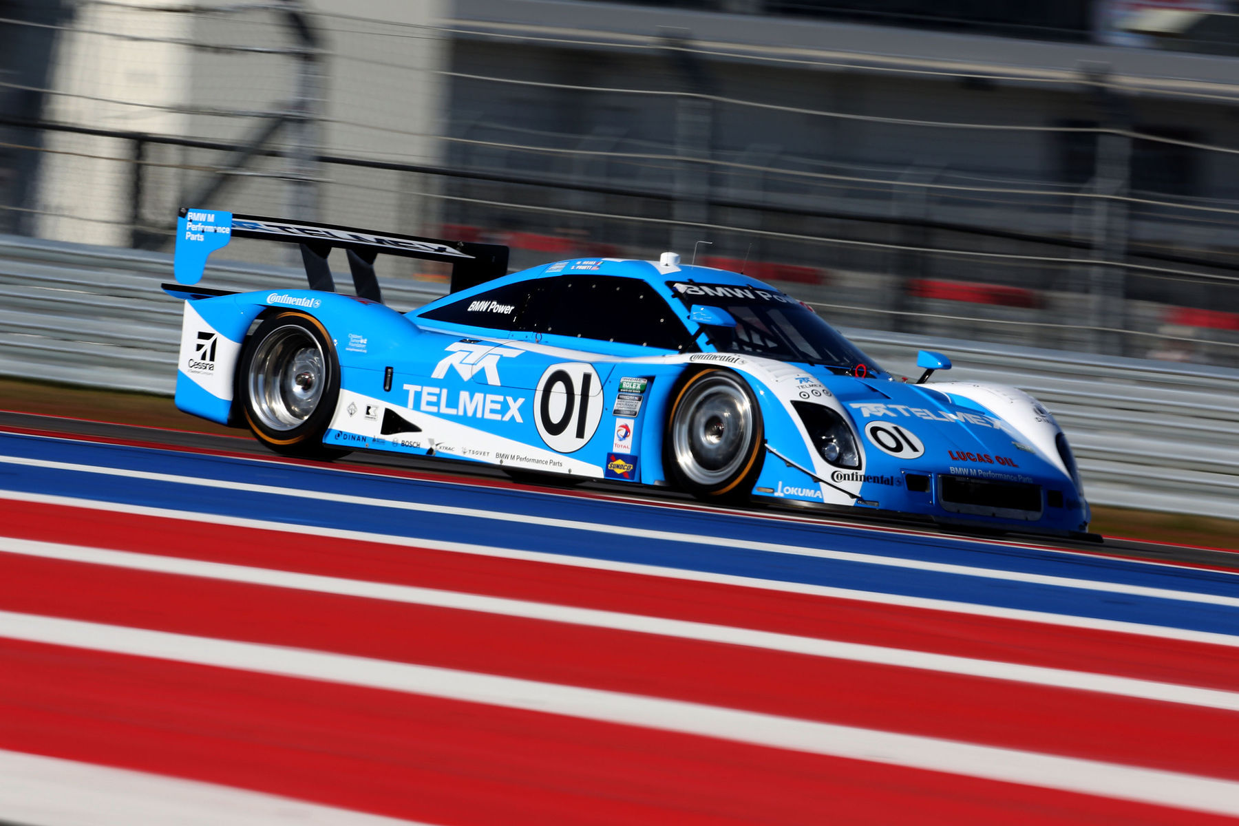 | Speed is what the 01 is all about. Continental Tire helps them land their podium and Victory Lane.
