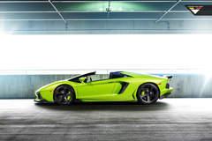 Lamborghini Verde Ithaca Aventador-V Roadster