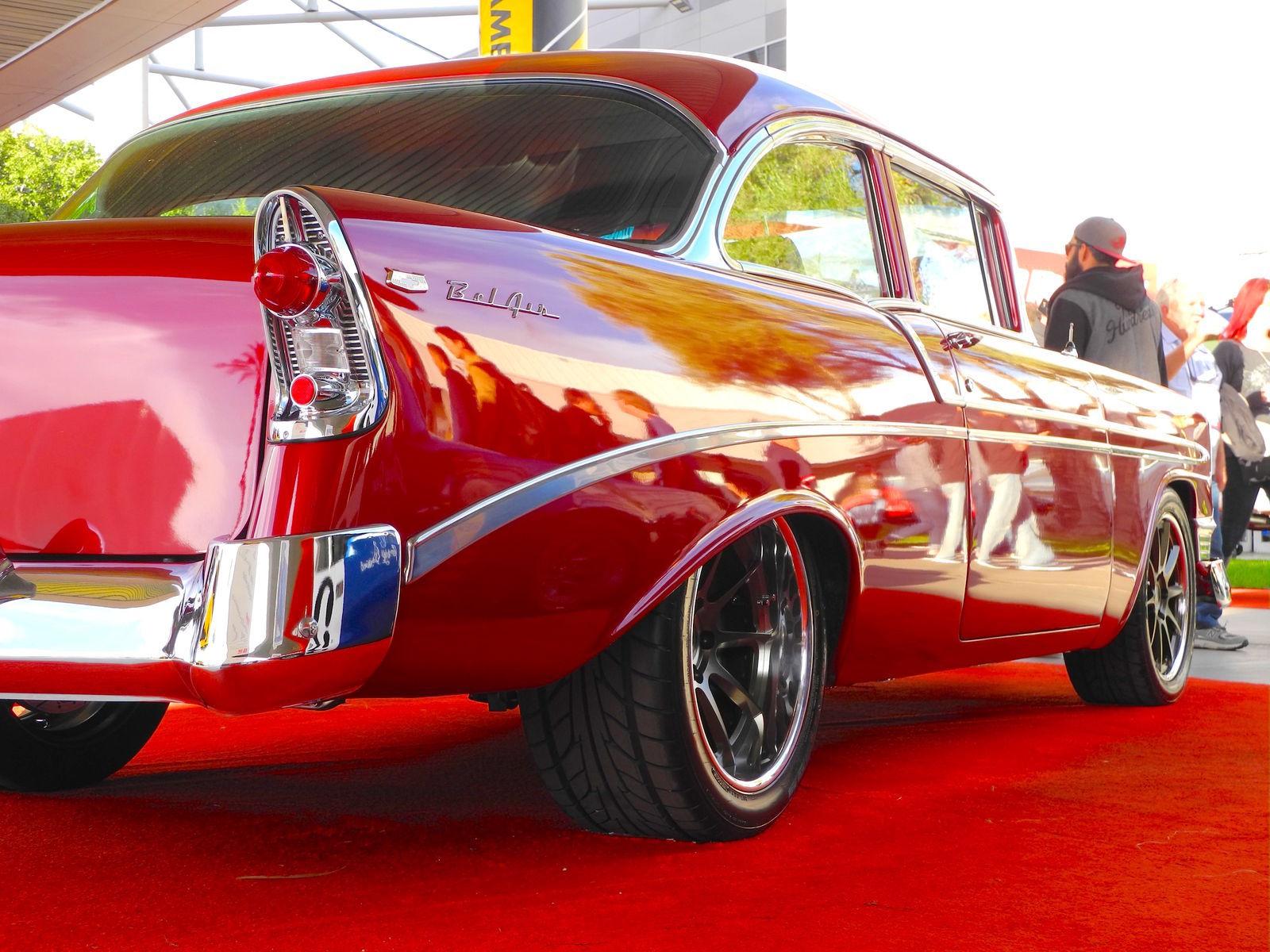 1956 Chevrolet Bel Air | Flat 12 Gallery's