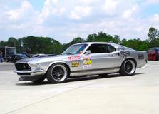 Mustang on Forgeline ZX3 Wheels