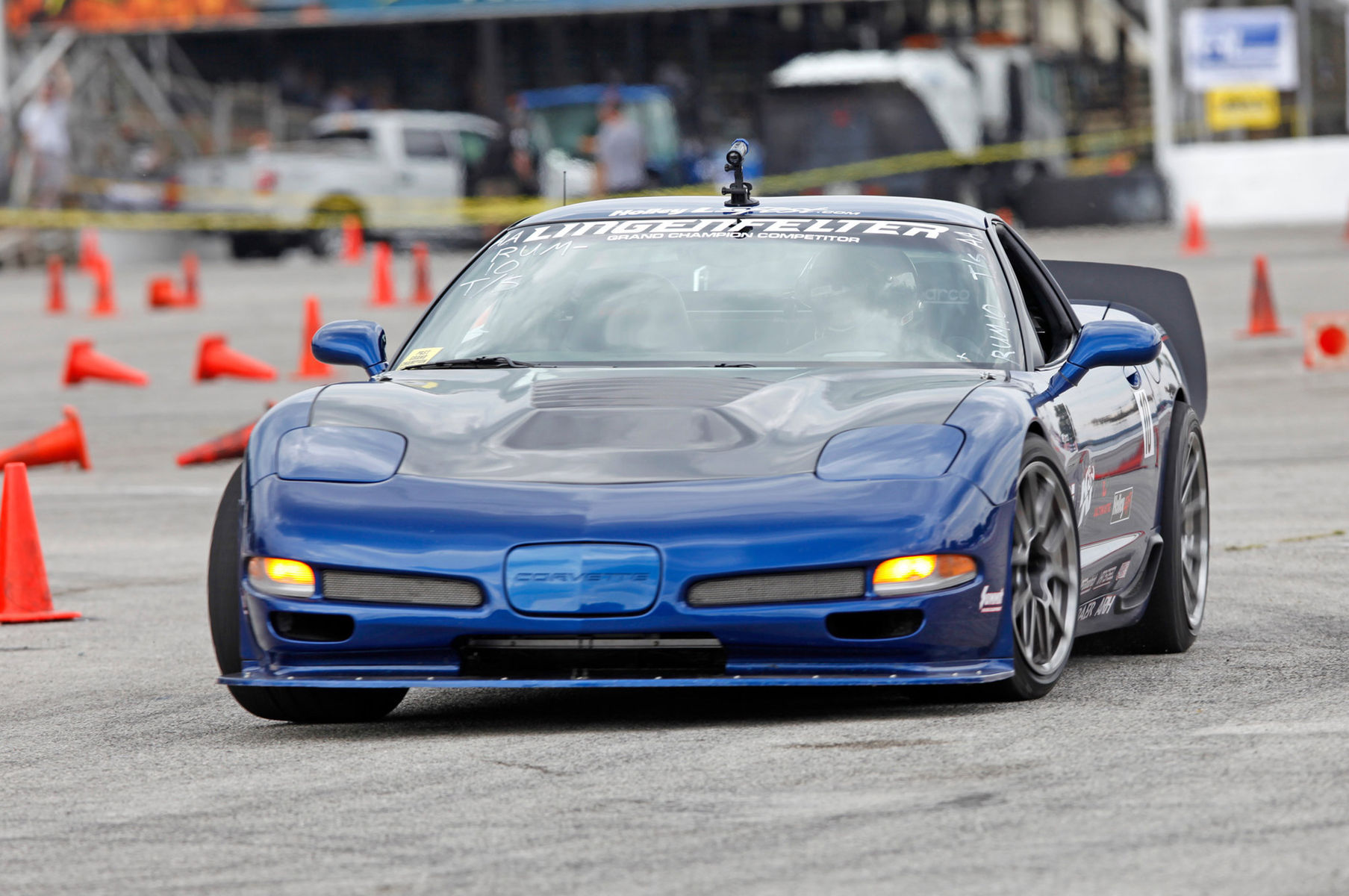 2003 Chevrolet Corvette Z06 | Danny Popp's Z06 Corvette on Forgeline GS1R Wheels